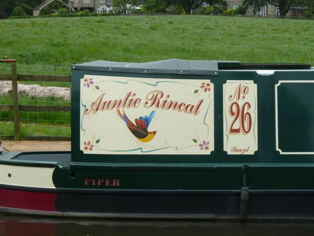 An unsusual boat name